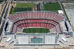 49er Stadium under construction